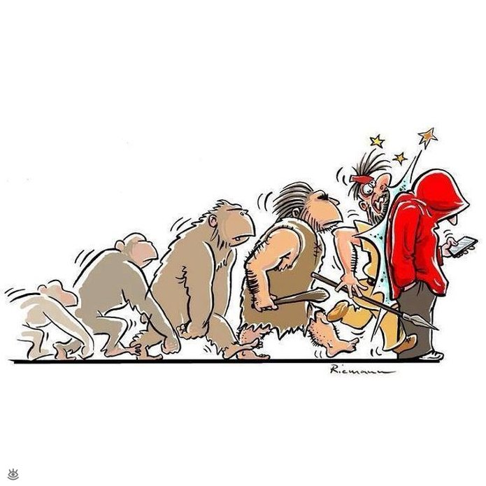 Смешная эволюция 11
