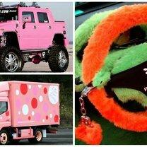 Автомобили по-женски смешных фото приколов