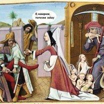 Фото приколы Чудные надписи к католическим картинам (41 фото)