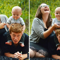 Фото приколы Дети чудят на фотосессиях (18 фото)