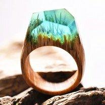 Чудо-кольца из дерева фото