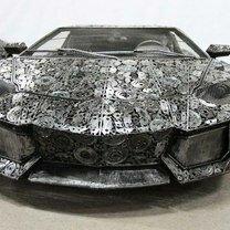 Машины из металлолома