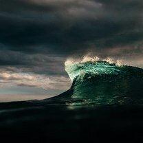 Фото приколы Суровая красота океана (25 фото)