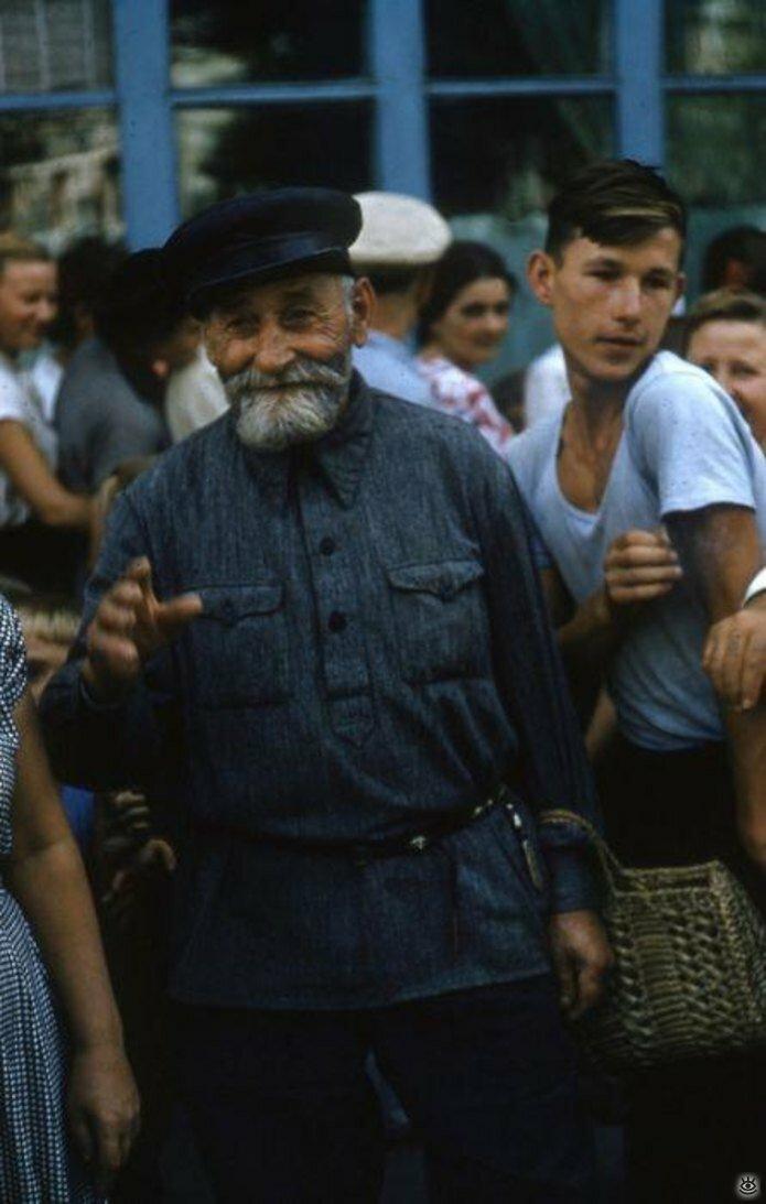 Люди из прошлого, люди из СССР 40