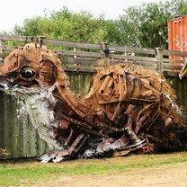 Фото приколы Зверушки из мусора (36 фото)