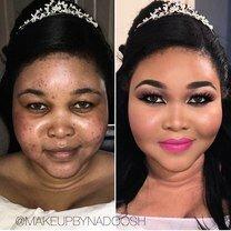 Фото приколы До макияжа и после (32 фото)