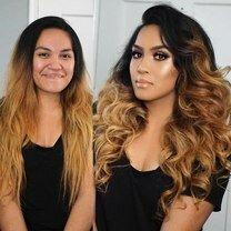 До макияжа и после фото приколы