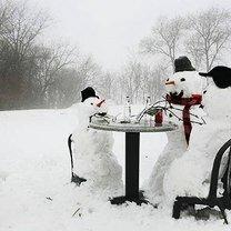 Смешные снеговики фото