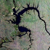 Наша Россия: вид из космоса фото