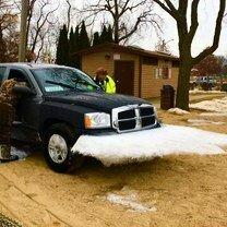 Ледяные шутки с автомобилями
