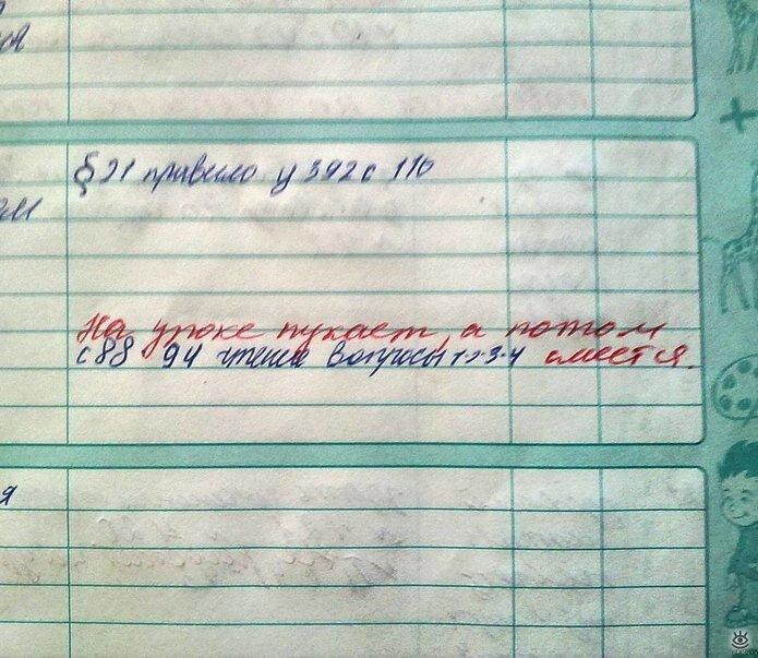 Смешные картинки в дневнике