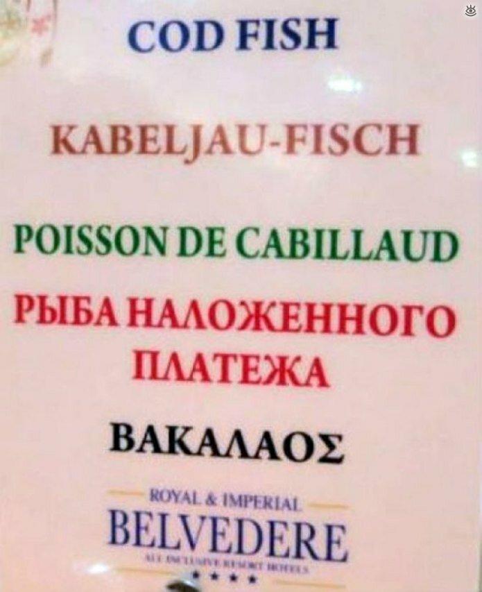 Трудности перевода на русский 19
