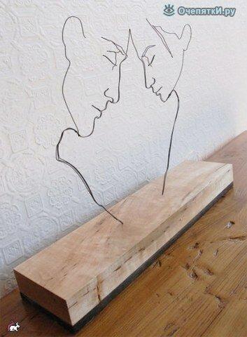 Проволочные скульптуры 2