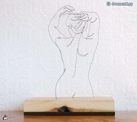 Проволочные скульптуры 3