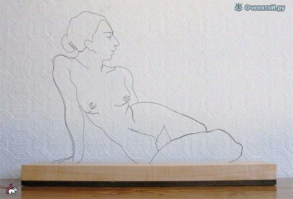 Проволочные скульптуры 4