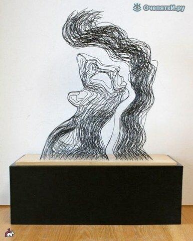 Проволочные скульптуры 5