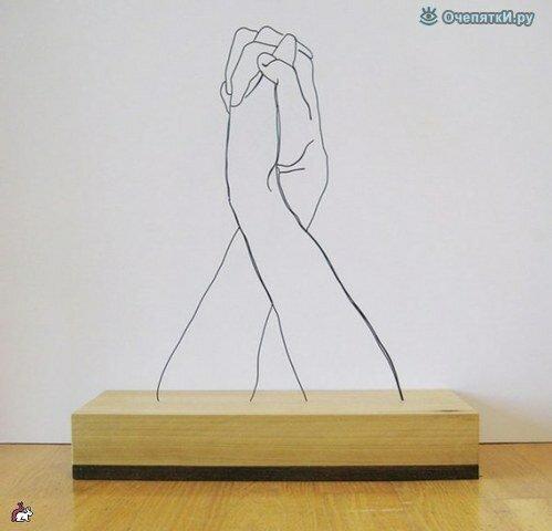 Проволочные скульптуры 6