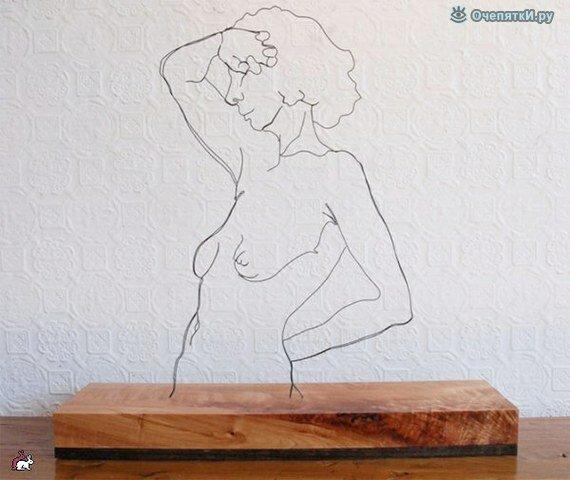 Проволочные скульптуры 7