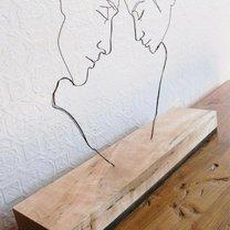 Проволочные скульптуры фото приколы