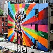 Масштабные уличные рисунки фото приколы