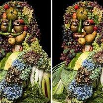 Фото приколы Вкусные портреты (9 фото)