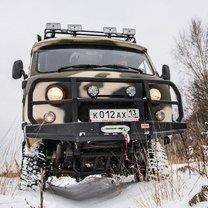 Охотничий домик из УАЗа-буханки смешных фото приколов