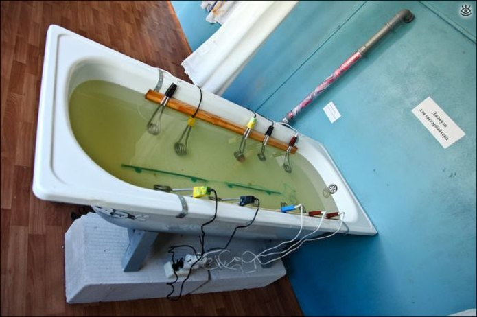 Как самостоятельно подогреть воду 1