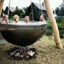 Фото приколы Как самостоятельно подогреть воду (17 фото)