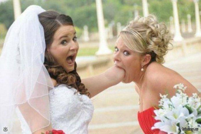 Свадебные фотоприколы (45 фото) 28