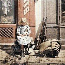 Фото приколы Одни из первых цветных фотографий (40 фото)