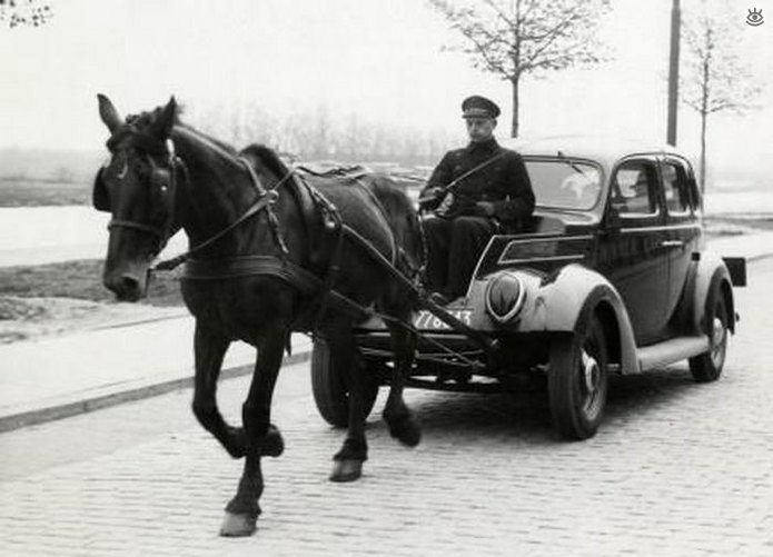 an analysis of the history of the automobile from horse to horsepower