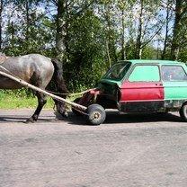 Фото приколы Оригинальный авто с одной лошадиной силой (22 фото)