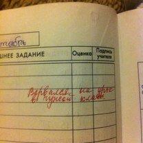 Фото приколы Учительские жалобы в дневниках (22 фото)