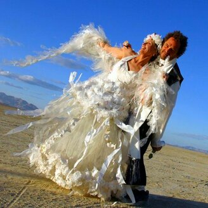 Шокирующие свадебные платья фото