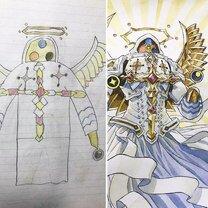 Отец дополнил рисунки сына фото приколы