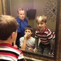 Фото приколы Дети постригли сам себя (24 фото)