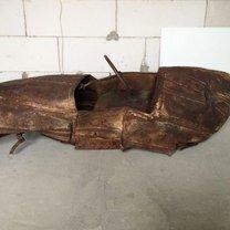 Перевоплощение старого ржавого детского авто