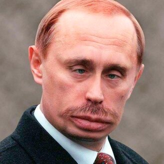 Путин в фотошопе
