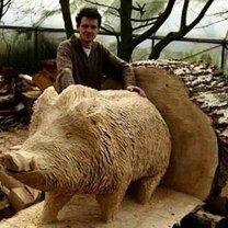 Потрясающие деревянные вещи и скульптуры