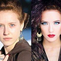 Как меняются женщины с макияжем
