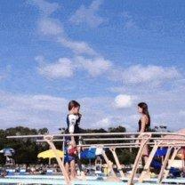 Фото приколы Провальные прыжки в воду