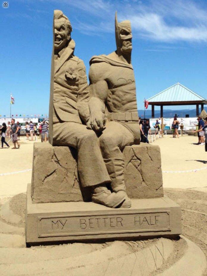 Грандиозные скульптуры из песка 4