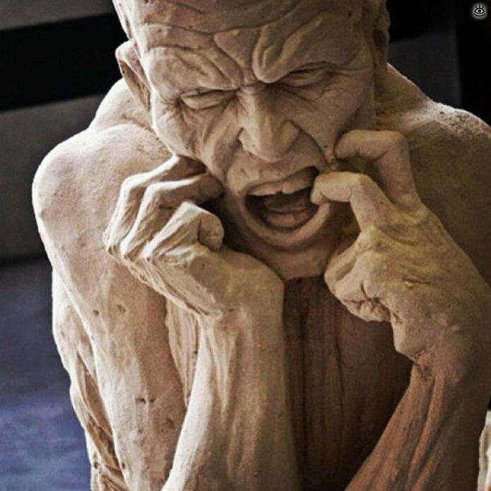 Грандиозные скульптуры из песка 12