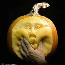 Красота из тыквы на Хэллоуин фото приколы
