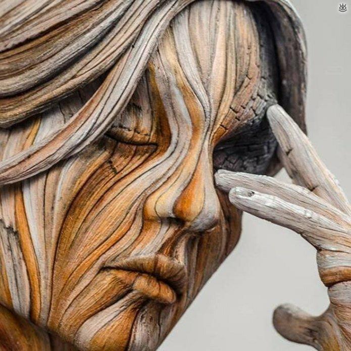 Необычные скульптуры 0