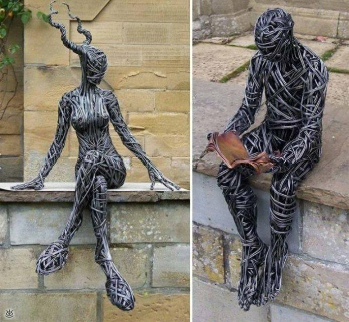 Необычные скульптуры 4