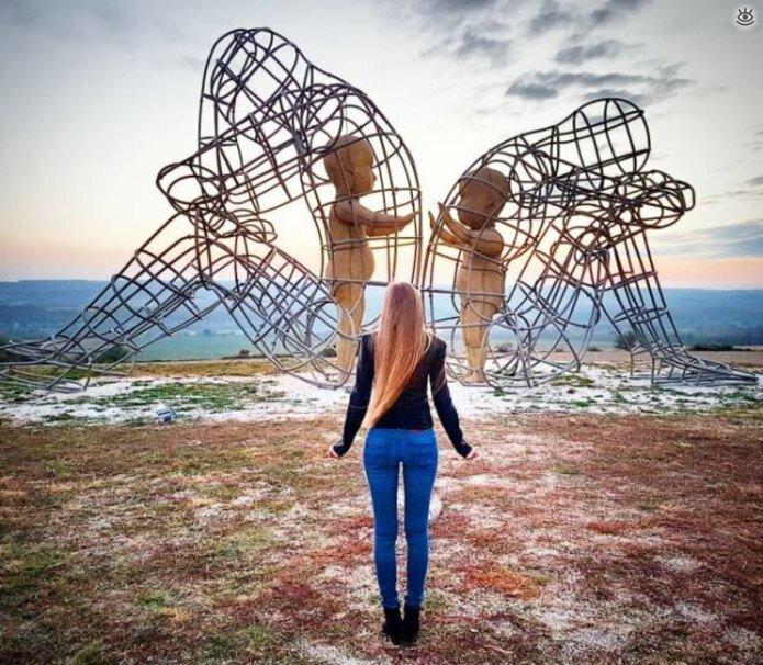 Необычные скульптуры 9
