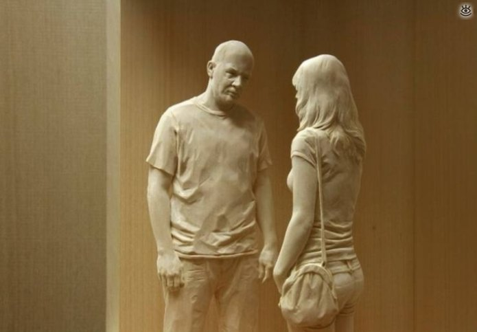 Необычные скульптуры 10