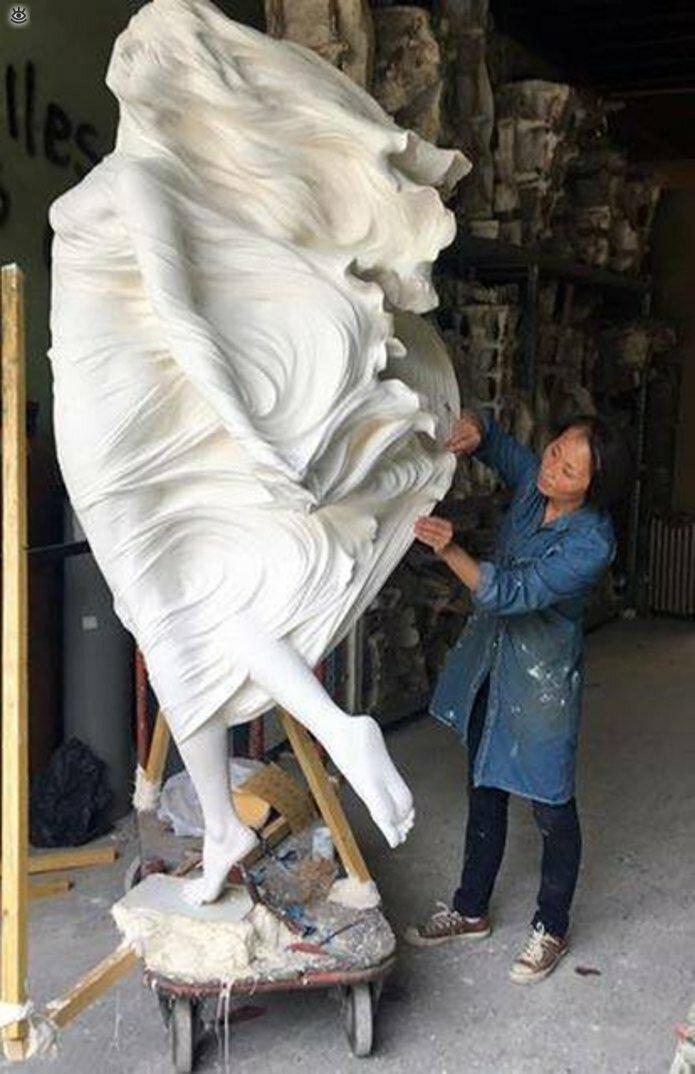 Необычные скульптуры 16