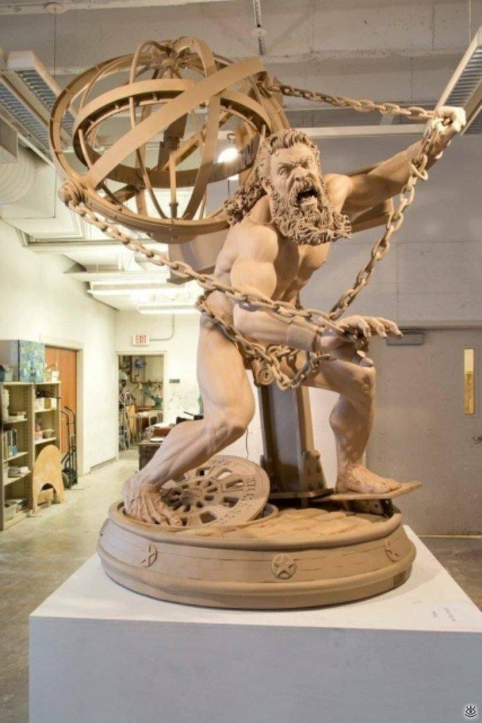 Необычные скульптуры 18
